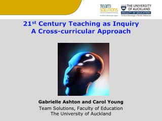 21 st  Century Teaching as Inquiry A Cross-curricular Approach Gabrielle Ashton and Carol Young