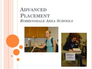 Advanced Placement Robbinsdale Area Schools