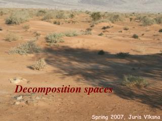 Decomposition spaces