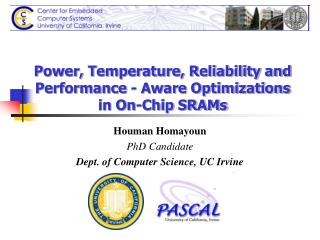 Power, Temperature, Reliability and Performance - Aware Optimizations in On-Chip SRAMs