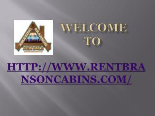 Branson Rental Cabins