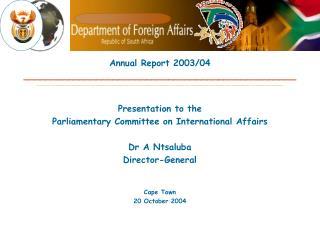 Annual Report 2003/04 _________________________________________________