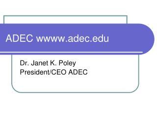 ADEC wadec