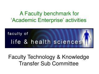 UU definition of Academic Enterprise (AE)