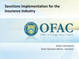 Sanctions Implementation for the Insurance Industry
