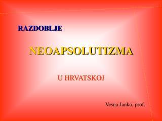 NEOAPSOLUTIZMA