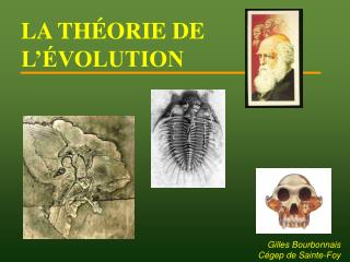 LA TH ORIE DE L  VOLUTION