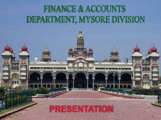 FINANCE & ACCOUNTS  DEPARTMENT, MYSORE DIVISION