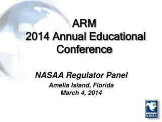 ARM  2014 Annual Educational Conference