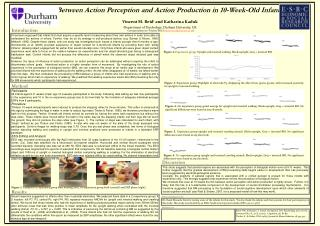 Links Between Action Perception and Action Production in 10-Week-Old Infants