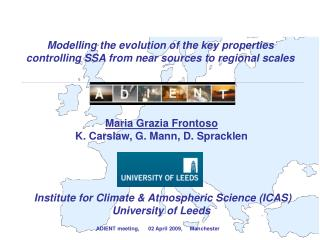 Modelling the evolution of the key properties