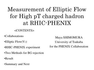 Measurement of Elliptic Flow for High pT charged hadron at RHIC-PHENIX