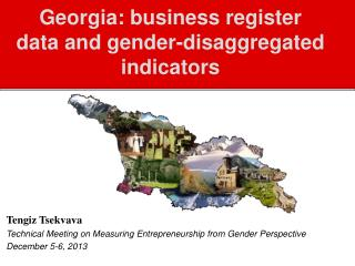 Georgia: business register data and gender-disaggregated indicators