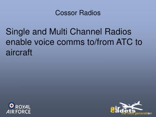 Cossor Radios