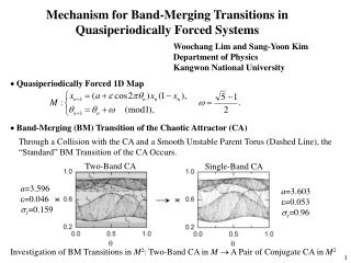 Mechanism for Band-Merging Transitions in Quasiperiodically Forced Systems