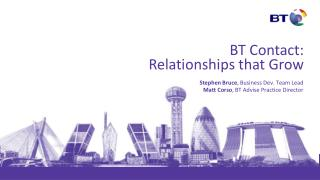 BT Contact: Relationships that Grow