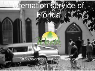 cremation service of florida