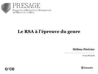 Hélène Périvier helene.perivier@ofce.sciences-po.fr 01 44 18 54 92