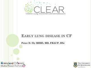 Early lung disease in CF