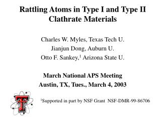 Rattling Atoms in Type I and Type II Clathrate Materials