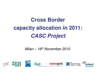 Milan  –  16 th  November 2010