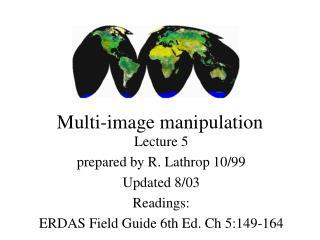 Multi-image manipulation