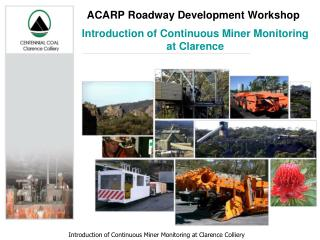 ACARP Roadway Development Workshop