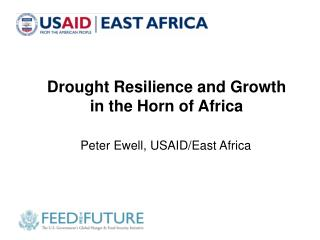 Drought Resilience and Growth  in the Horn of Africa