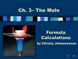 Formula Calculations by Christy Johannesson