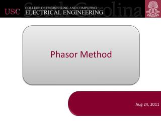 Phasor Method
