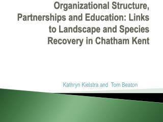Kathryn Kielstra and  Tom Beaton