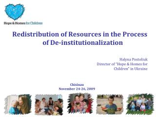 Redistribution of Resources in the Process of De-institutionalization