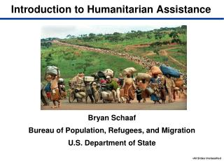 Introduction to Humanitarian Assistance