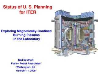 Status of U. S. Planning for ITER