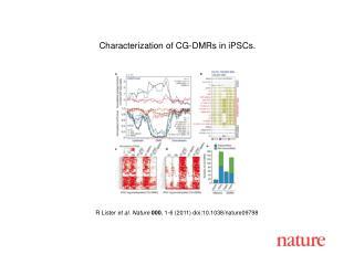 R Lister  et al. Nature 000 , 1-6 (2011) doi:10.1038/nature09798