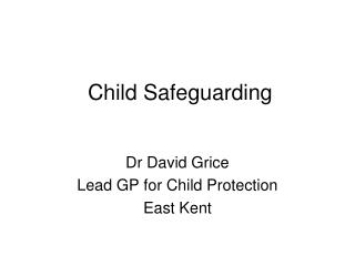 Child Safeguarding