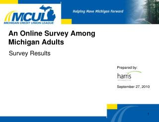 An Online Survey Among Michigan Adults