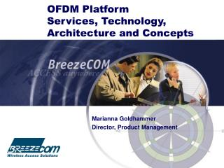 OFDM Platform Services, Technology, Architecture and Concepts