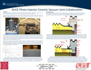 ALICE Photo-Injector Ceramic Vacuum Joint Collaboration