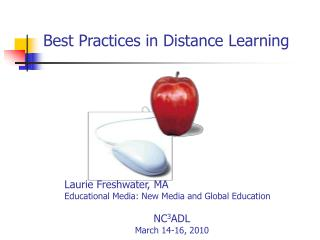 Best Practices in Distance Learning