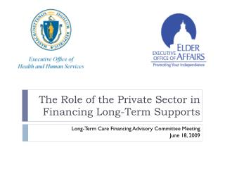 The Role of the Private Sector in Financing Long-Term Supports