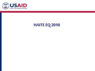 HAITE EQ 2010