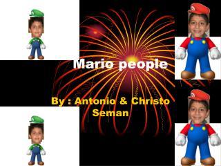 Mario people