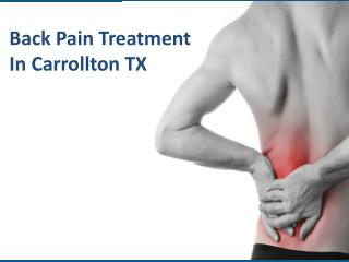 Back Pain Carrollton