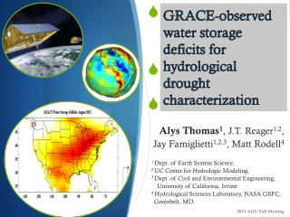 GRACE-observed water storage deficits for hydrological drought  characterization