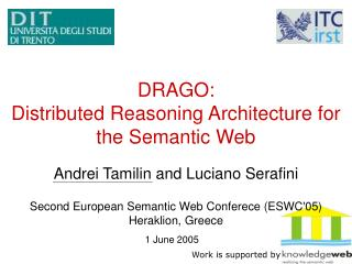 DRAGO:  Distributed Reasoning Architecture for the Semantic Web