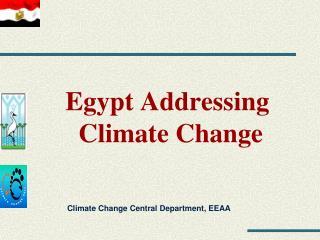 Egypt Addressing  Climate Change