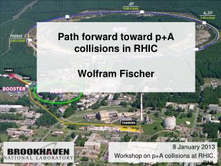 Path forward toward  p+A  collisions in  RHIC Wolfram Fischer