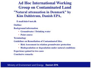 Ad Hoc International Working Group on Contaminated Land