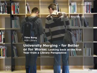 Tove Bang ASB Library
